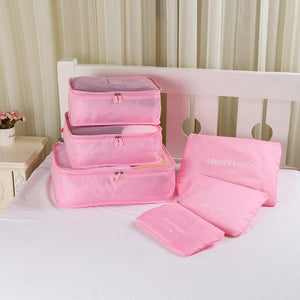 Packing cubes Chill Screen Pink