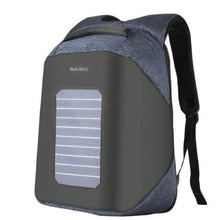 Load image into Gallery viewer, ''Helios'' Solarpower backpack Chill Screen Blue
