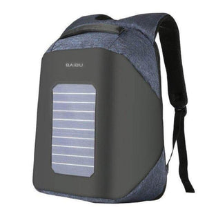 ''Helios'' Solarpower backpack Chill Screen Blue