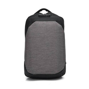 """The Allrounder"" Backpack (Powerbank compatible) Chill Screen light gray"
