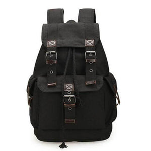 ''Worldtraveller'' Backpack Chill Screen Black