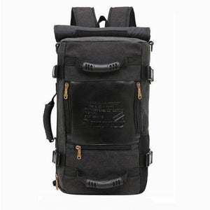 ''The Survivor'' Backpack (Large capacity) Chill Screen Black