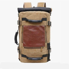 Load image into Gallery viewer, ''The Survivor'' Backpack (Large capacity) Chill Screen khaki