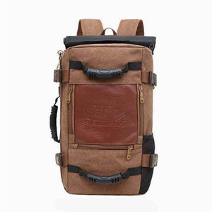 ''The Survivor'' Backpack (Large capacity) Chill Screen coffee