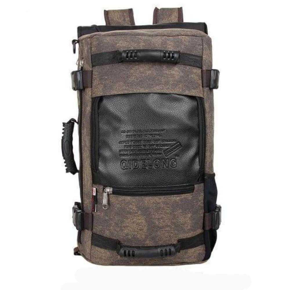 ''The Survivor'' Backpack (Large capacity) Chill Screen L- dark