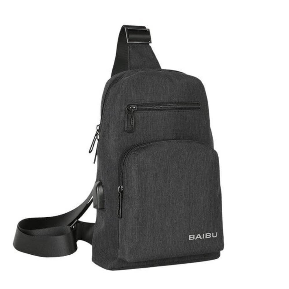 ''The Day-Tripper'' Backpack Chill Screen Black