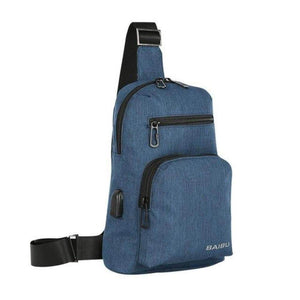 ''The Day-Tripper'' Backpack Chill Screen Blue