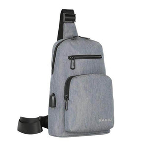 ''The Day-Tripper'' Backpack Chill Screen Gray