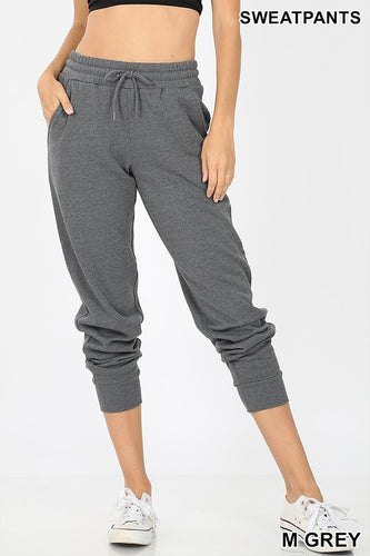 Zenana Joggers - Dark Grey