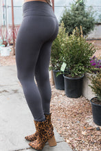 Load image into Gallery viewer, leggings-high-waisted-fleece-lined-leggings