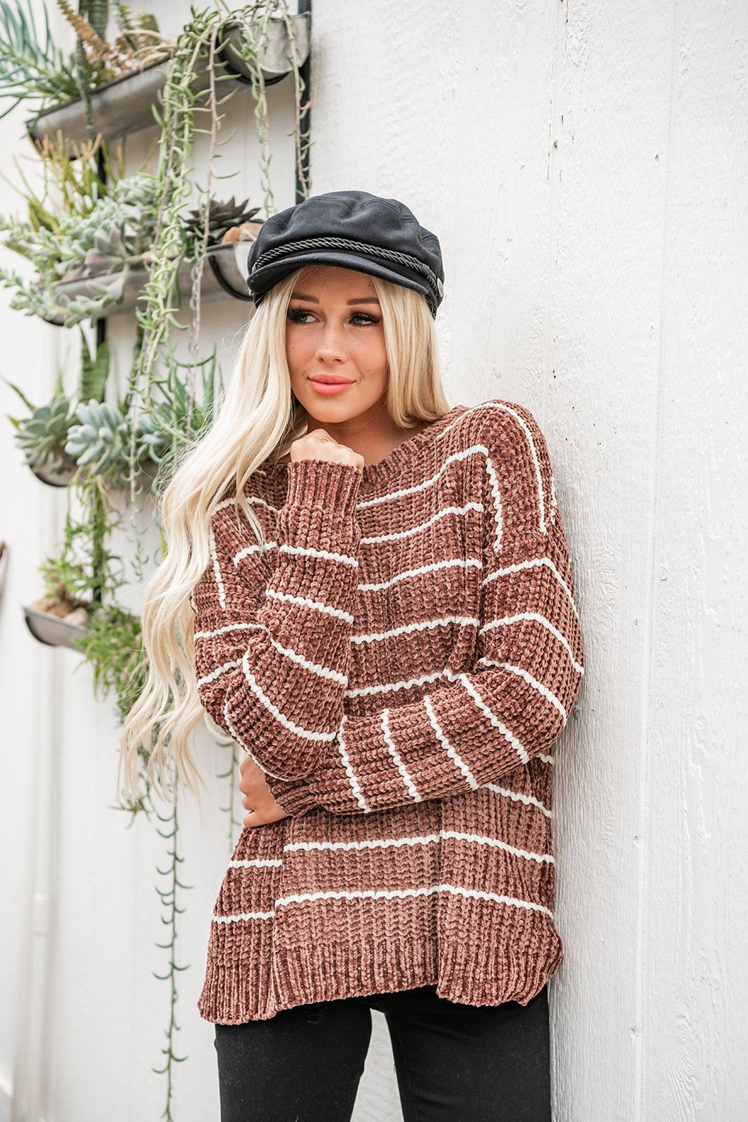womens-clothes-getting-cozy-chenille-sweater-taupe