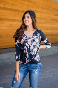Say Anything Floral Top