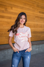 Load image into Gallery viewer, Just Peachy Vintage Graphic tee