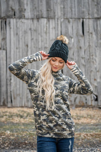 Ampersand Avenue Doublehood - Covered In Camo