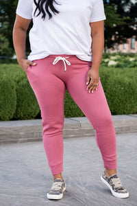 Give It All Jogger Sweatpants- Pink