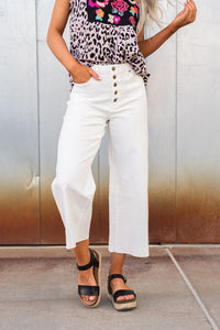 Summer In Paradise Wide Leg Pant