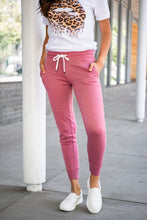 Load image into Gallery viewer, Give It All Jogger Sweatpants- Pink