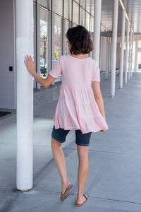 Walk Your Way Tiered Ruffle Top