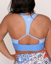 Load image into Gallery viewer, High Tide Blue Swim Top