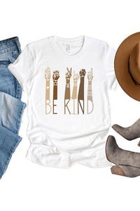 Be Kind Hands Graphic Tee