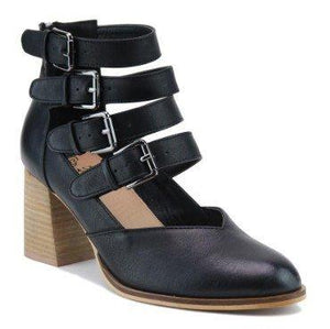 Something Special Strappy Bootie-Black