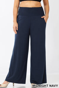 Me Time Smocked Lounge Pant