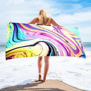 Geode Rectangle Microfiber Towel