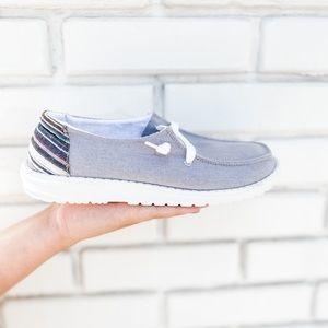 Poppy Boardwalk Sneakers Grey