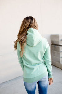 Ampersand Avenue Singlehood Sweatshirt- Mint