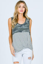 Load image into Gallery viewer, Fiercely Feminine Camo Tank