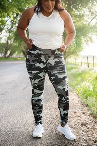 Jungle Camo Active Leggings