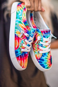 Fruit Tie Dye Sneakers