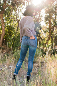 Blue Jean Baby Distressed Jeans