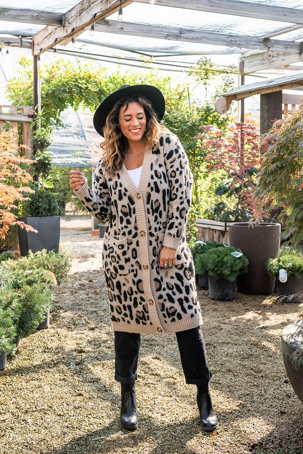 Make It Yours Leopard Cardigan