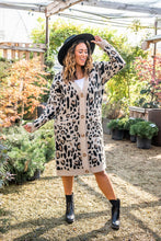 Load image into Gallery viewer, Make It Yours Leopard Cardigan