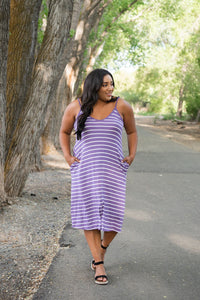 Simply Splendid Striped Dress
