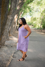 Load image into Gallery viewer, Simply Splendid Striped Dress