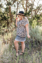 Load image into Gallery viewer, Playful Playlist Leopard Dress