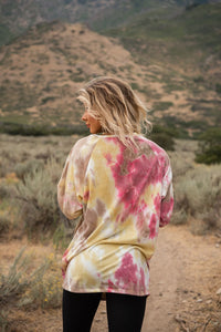 FAB Experiences Tie Dye Tunic