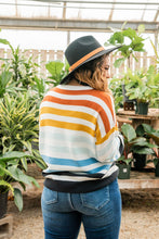 Load image into Gallery viewer, Take A Leap Striped Sweater