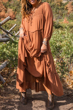 Load image into Gallery viewer, Wanderer Boho Midi Dress