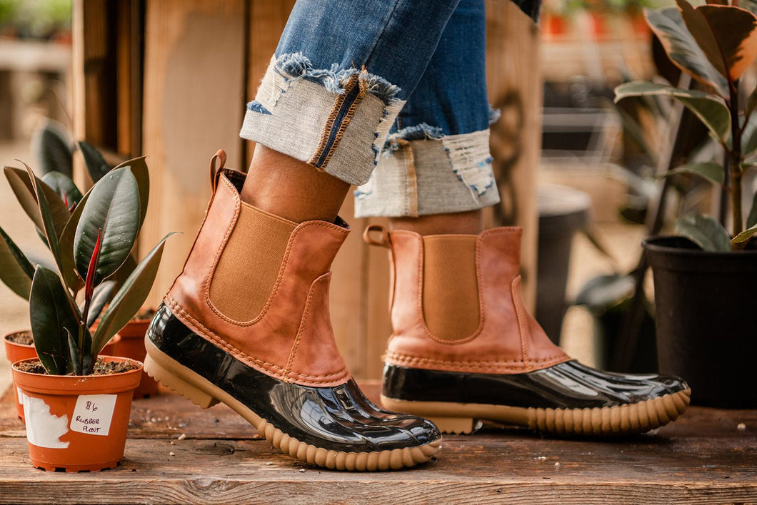 Let's Go Out Duck Boots
