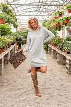 Load image into Gallery viewer, Sweetest Moments Sweatshirt Dress