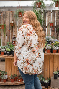 Ode To Love Floral Top