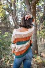 Load image into Gallery viewer, Fresh Nostalgia Striped Sweater