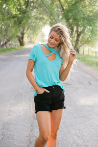 Sweetest Moments Cut Out Top