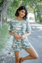 Load image into Gallery viewer, Close To You Camo Romper
