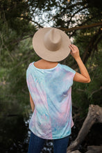 Load image into Gallery viewer, In The Groove Tie Dye Top