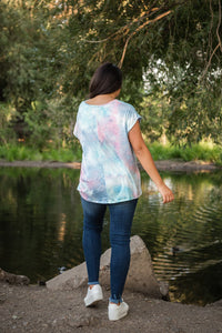 In The Groove Tie Dye Top