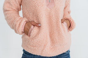 Bundle Up Sherpa Pullover